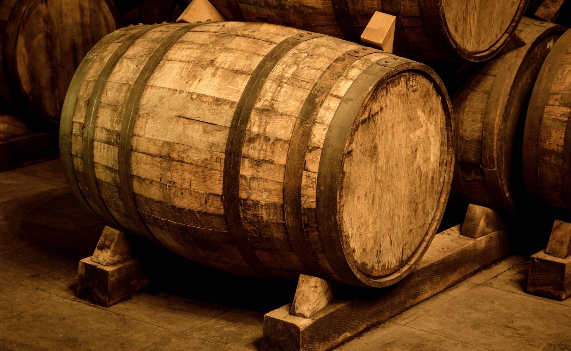 barrica para añejamiento del tequila