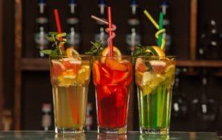 bebidas con tequila y frutas