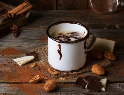 Cóctel Chocolate caliente con tequila