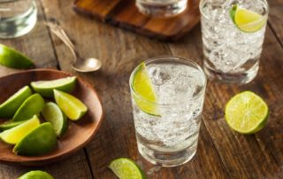 coctel tequila and tonic