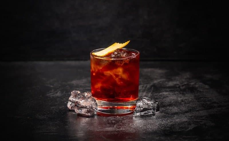 coctel tequila negroni