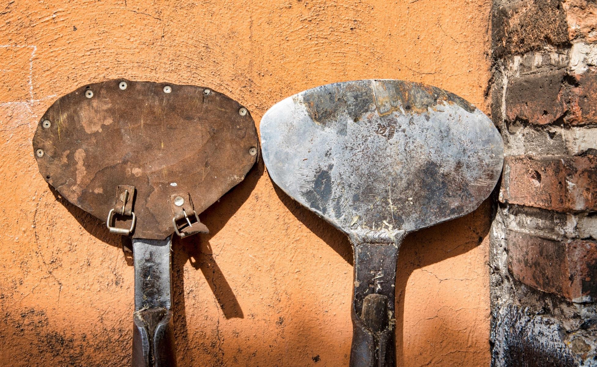 herramientas para cosechar tequila