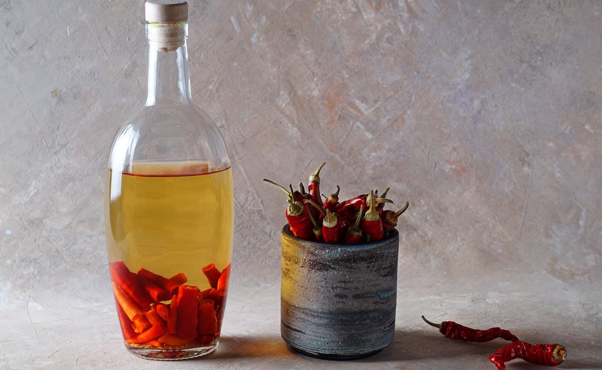 infusion tequila con chiles