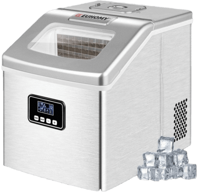 maquina hielo transparente