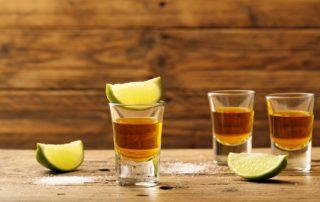 shot de tequila