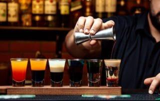 shots con tequila