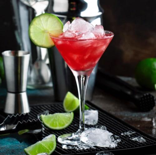 coctel cosmopolitan de tequila