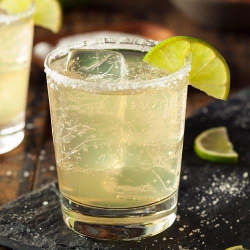 coctel margarita burbujeante