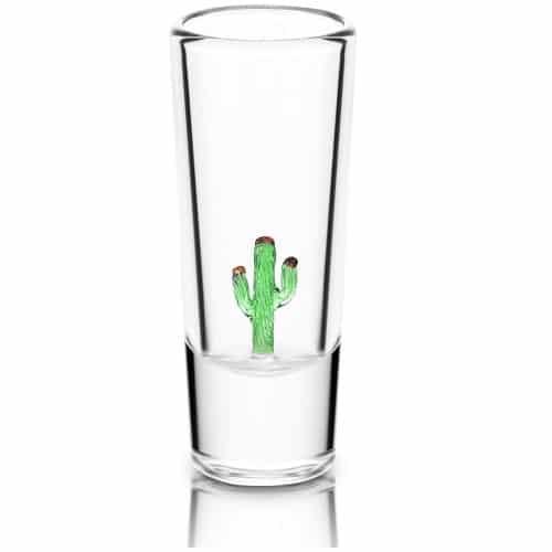 vaso para tequila cactus